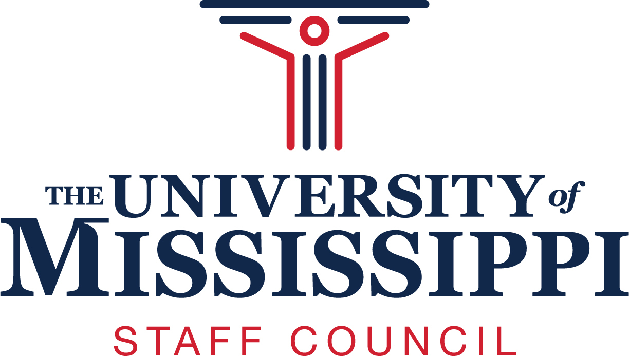 The University of Mississippi Staff Council logo